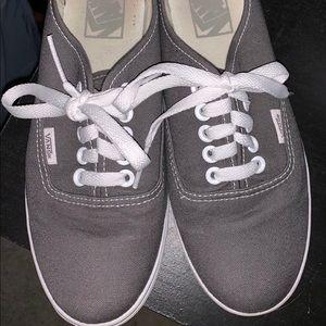 Women's Gray Vans size 7